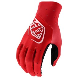 Guantes Troy Lee Designs SE Ultra rojo