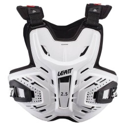 Peto motocross Leatt 2.5 blanco