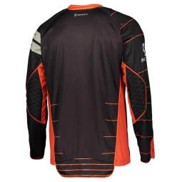 Camiseta Enduro Scott negro naranja