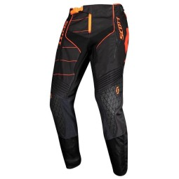 Scott Enduro Pantaloni motocross Nero//Arancione