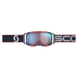 Motocross-Brille Scott Prospect retro blue red