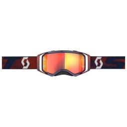 Motocross-Brille Scott Prospect red blue