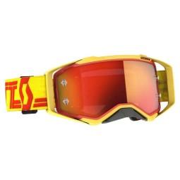 Motocross-Brille Scott Prospect yellow red