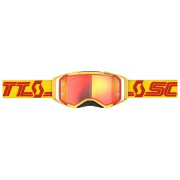 Lunettes motocross Scott Prospect yellow red