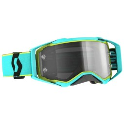 Motocross goggles Scott Prospect LS teal yellow