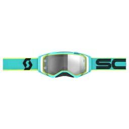 Gafas de motocross Scott Prospect LS teal yellow
