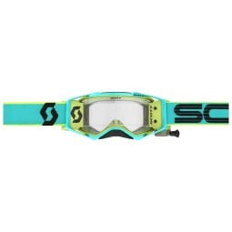 Motocross-Brille Scott Prospect WFS teal yellow