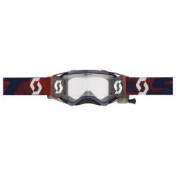 Motocross goggles Scott Prospect WFS red blue