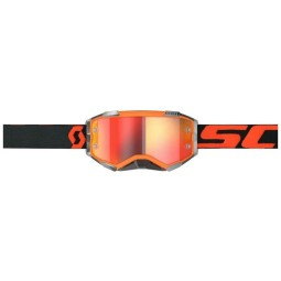Scott Fury orange black motocross goggles