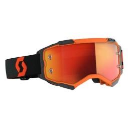 Gafas motocross Scott Fury naranja negro