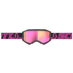 Scott Fury black pink motocross goggles