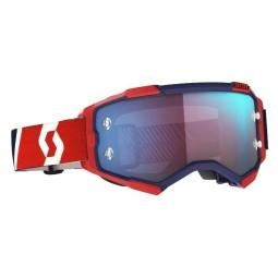 Gafas motocross Scott Fury rojo azul