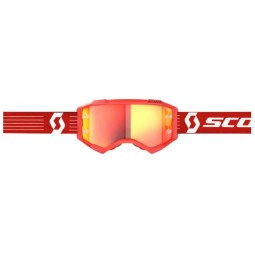 Scott Fury red motocross goggles
