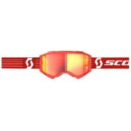 Scott Fury rot motocross brille