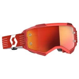 Scott Fury rot motocross brille