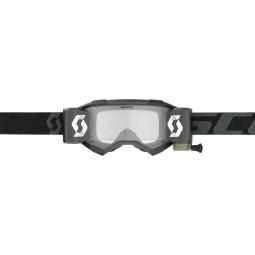 Gafas motocross Scott Fury WFS negro roll-off