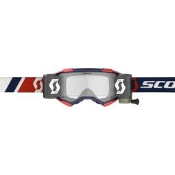 Gafas motocross Scott Fury WFS rojo azul roll-off