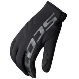 Scott Neoprene motocross gloves black