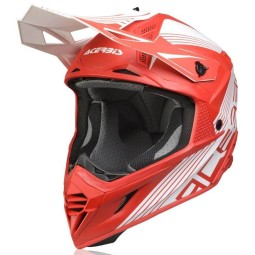 Acerbis X-Track VTR red helmet