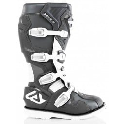 Motocross stiefel Acerbis X-Race grau