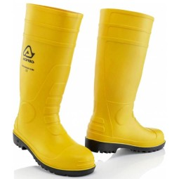 Acerbis 00SET yellow rubber boots