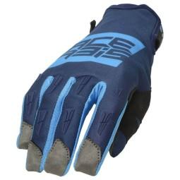 Guantes motocross Acerbis MX WP Homologated azul