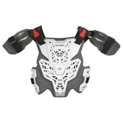 Peto cross Acerbis Gravity Level 2 blanco