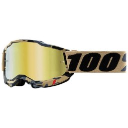 100% Accuri 2 Tarmac motocross goggles