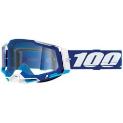 100% Racecraft 2 Essential blau Motocross-Brille