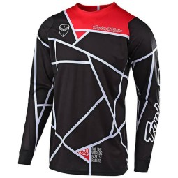 Maillot Cross Troy Lee Designs SE Air Metric black red