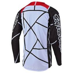 Camiseta Motocross Troy Lee Designs SE Air Metric black red
