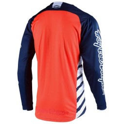Camiseta Motocross Troy Lee Designs GP Drift azul