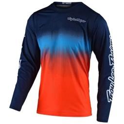 Camiseta Motocross Troy Lee Designs GP Staind navy orange