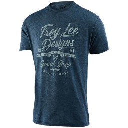Camiseta Troy Lee Design Widow Maker azul