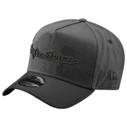 Motocross Cap Troy Lee Design Signature grey