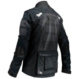 Enduro jacket Leatt Gpx 4.5 X-flow black
