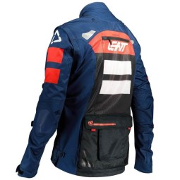 Enduro jacket Leatt Gpx 4.5 X-flow blue