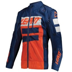Enduro jacket Leatt Gpx 4.5 X-flow orange