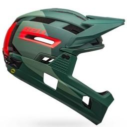 Bell MTB-Helm Super Air R green infrared