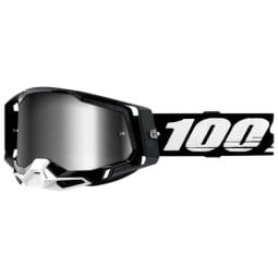 100% Racecraft 2 Essential Schwarz Motocross-Brille