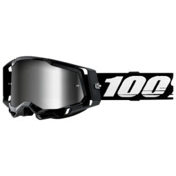 100% Racecraft 2 Essential black motocross goggles