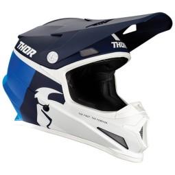 Motocrosshelm Thor Sector Racer navy blue