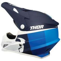 Motocross Helmet Thor Sector Racer navy blue