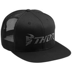 Motocross Cap Thor MX Trucker Snapback Black