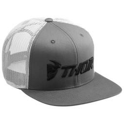 Motocross Cap Thor MX Trucker Snapback Gray