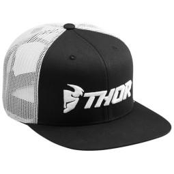 Motocross Cap Thor MX Trucker Snapback White