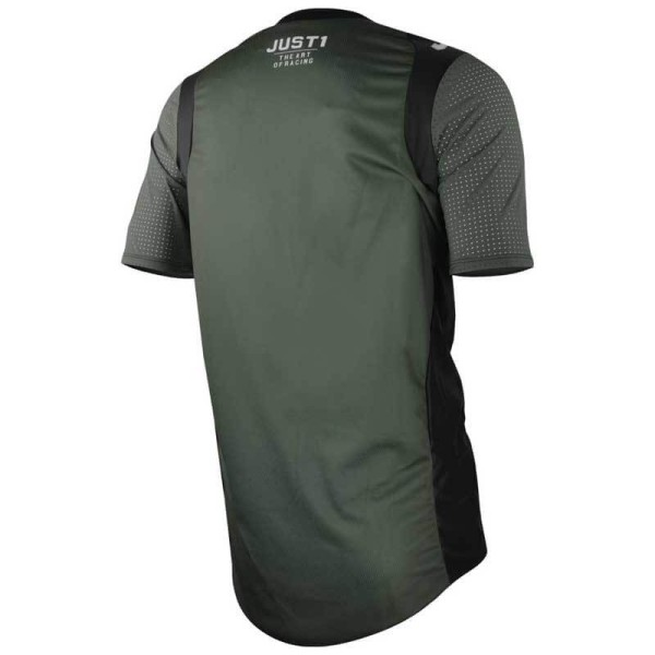 Just1 J-Flex Hype MTB jersey green short sleeves