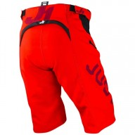 Just1 J-Flex Hype red MTB shorts