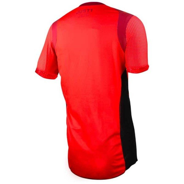 Just1 J-Flex Hype MTB jersey red short sleeves