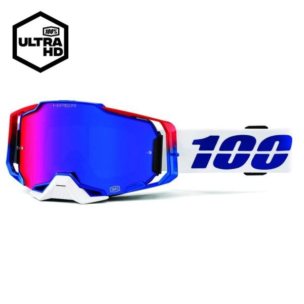 Motocross Goggles 100% ARMEGA Genesis Mirror